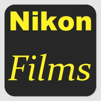 Nikon Films Sticker