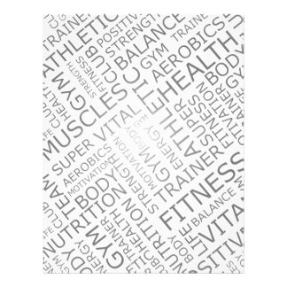 Gym Promotional Flyers, Gym Promotional Flyer Templates