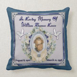 Memorial Pillows  Memorial Throw Pillows  Zazzle
