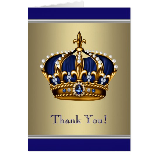 Royal Blue Gold White Paper