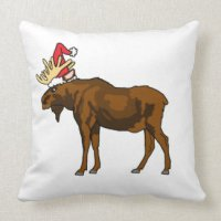 Moose Pillows - Moose Throw Pillows | Zazzle