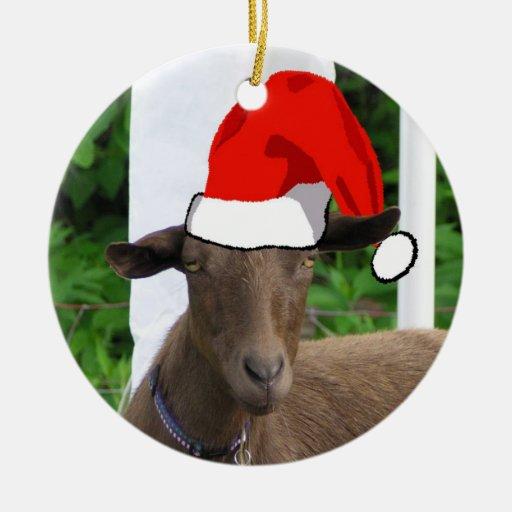 Goat Christmas Ornament.Goat Christmas Ornament Christmas Day