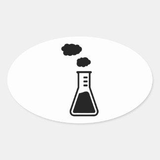 Laboratory Glass Stickers, Laboratory Glass Custom Sticker