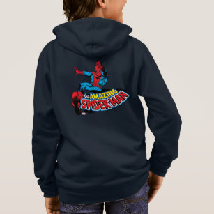 spider man logo hoodies
