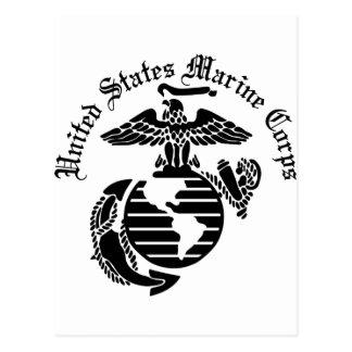 Us Marine Corps Postcards, Us Marine Corps Post Card Templates