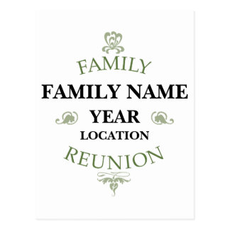 Family Reunion Cards, Photocards, Invitations & More