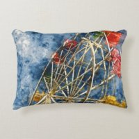 Carnival Accent Pillows | Carnival Decorative Pillow Designs