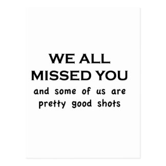 We Miss You Postcards, We Miss You Post Card Templates