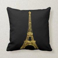 Custom Eiffel Tower Decorative & Throw Cushions | Zazzle.co.nz