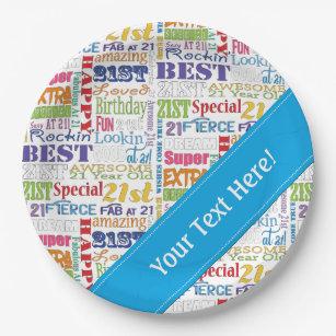 Happy 21st Birthday Pattern Gifts On Zazzle Nz