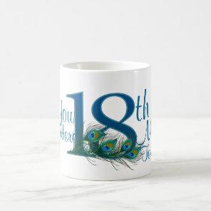 18th Wedding Anniversary Mug