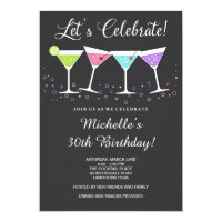 30th Birthday Invitation / Adult Birthday Invite
