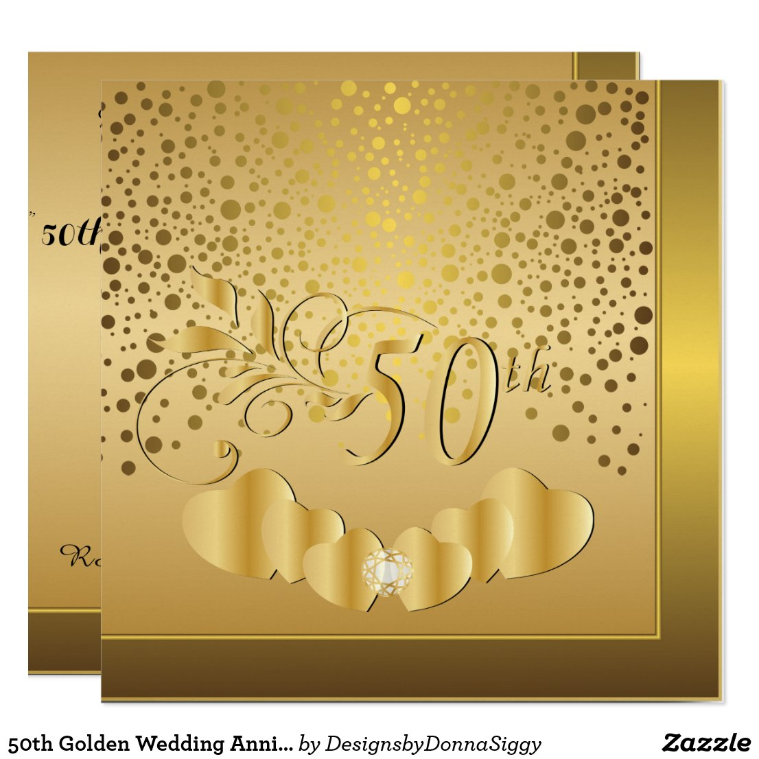 50th Golden Wedding Anniversary
