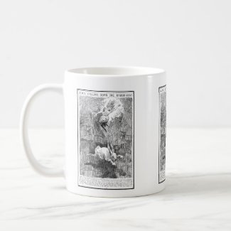 Alice Falling Down the Rabbit-Hole Mug