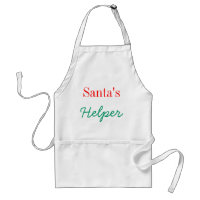 Apron ~ Santa's Helper