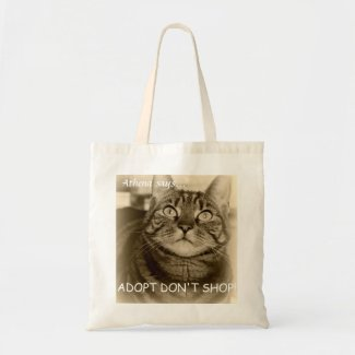Athena Adopt Don't Shop Bag Tote Bag