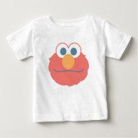 Baby Elmo Face Baby T-Shirt