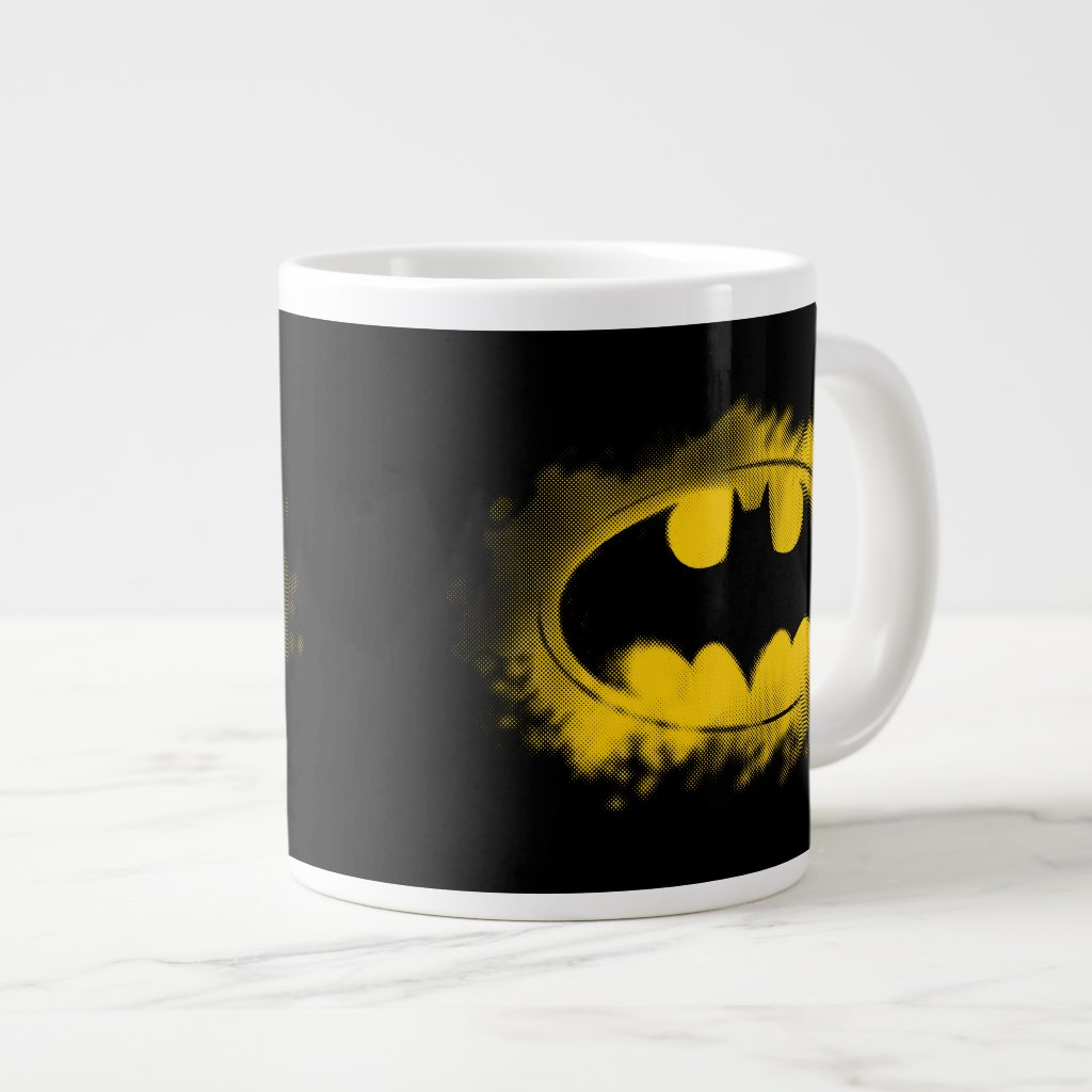 Batman Symbol | Black and Yellow Logo Mug