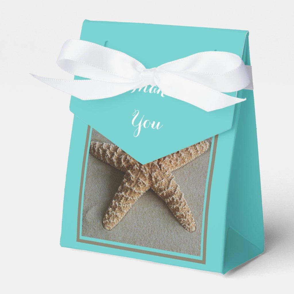 Beach Wedding Favour Boxes
