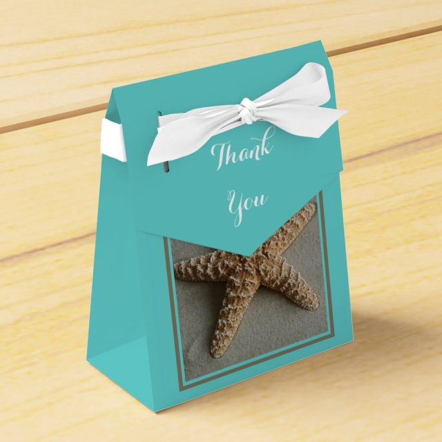 Beach Themed Wedding Favour Boxes