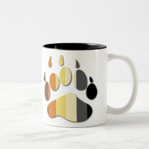 Bear Flag Paw Mug