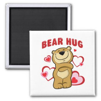 Bear Hug Magnet