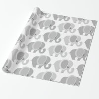 Beautiful Baby Elephants Wrapping Paper