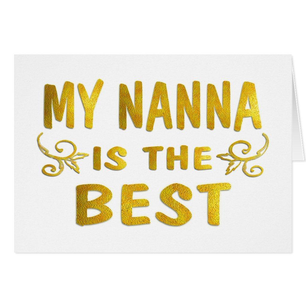 Best Nanna Card