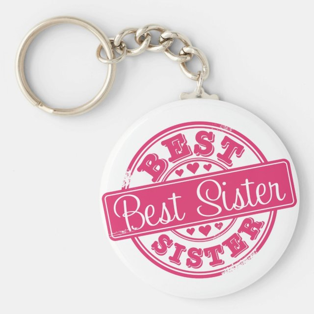 Best sister -rubber stamp effect-