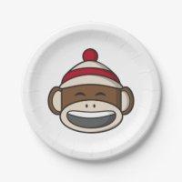 Monkey Plates | Zazzle.co.uk