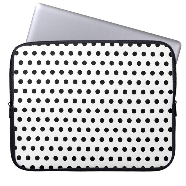 Black and White Polka Dot Pattern. Spotty.