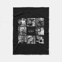 Family Photo Collage Fleece Blanket