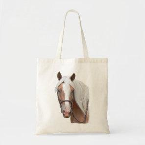 Blonde Horse Tote Bag