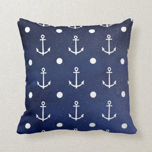 Anchor Seamless Pattern Cushion