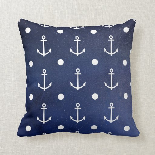 Anchor Seamless Pattern Cushion