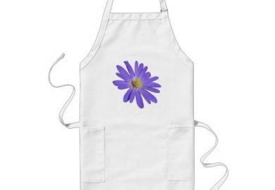 Flower Aprons Flower Kitchen Apron Designs Zazzle