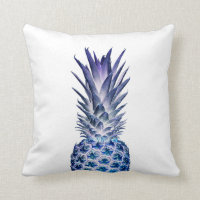 Blue Pineapple Pillow