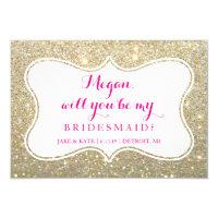 Bridal Party Invite Card