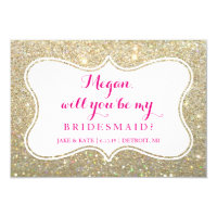 Bridal Party Invite Card