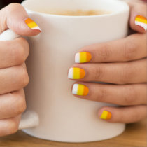 Candy Corn Ombre Halloween Minx® Nail Wraps