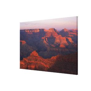 Canyon landscape canvas print