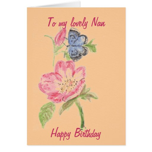 Card for Nan