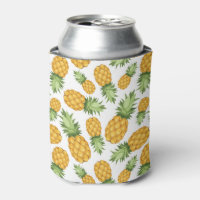 Pineapple Pattern Can Cooler