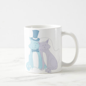 Cat Theme Wedding Coffee Mug