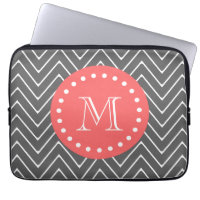 Chevron Monogram Laptop Sleeve