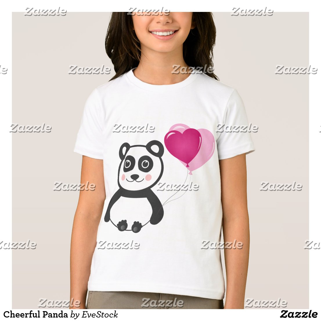 Cheerful Panda T-Shirt