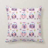 Owls Cushion Pillow