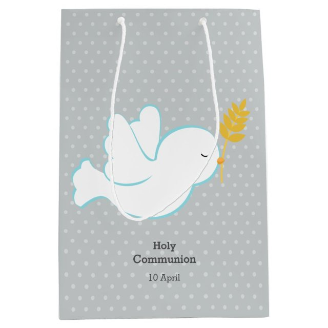 Christening Dove Gift Bag
