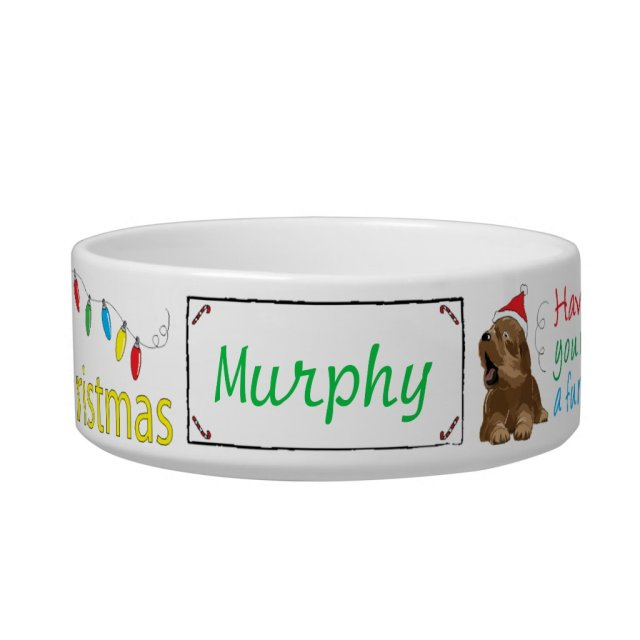 Christmas Medium DOG Pet Bowl