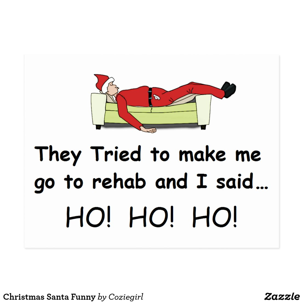 Christmas Santa Funny